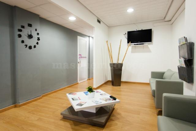 Sala de espera - Clínica Dental Serranos