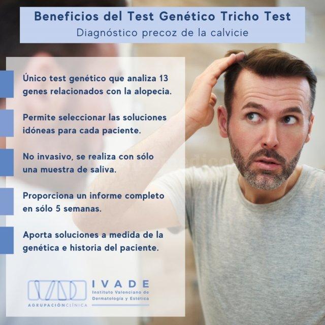 Beneficios del Test Genético Tricho Test - IVADE - Agrupación Clínica
