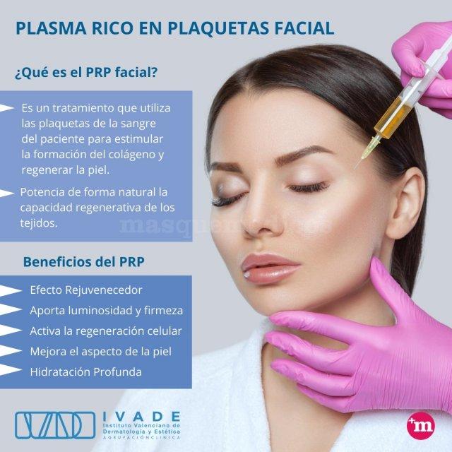Plasma rico en plaquetas facial - IVADE - IVADE - Agrupación Clínica
