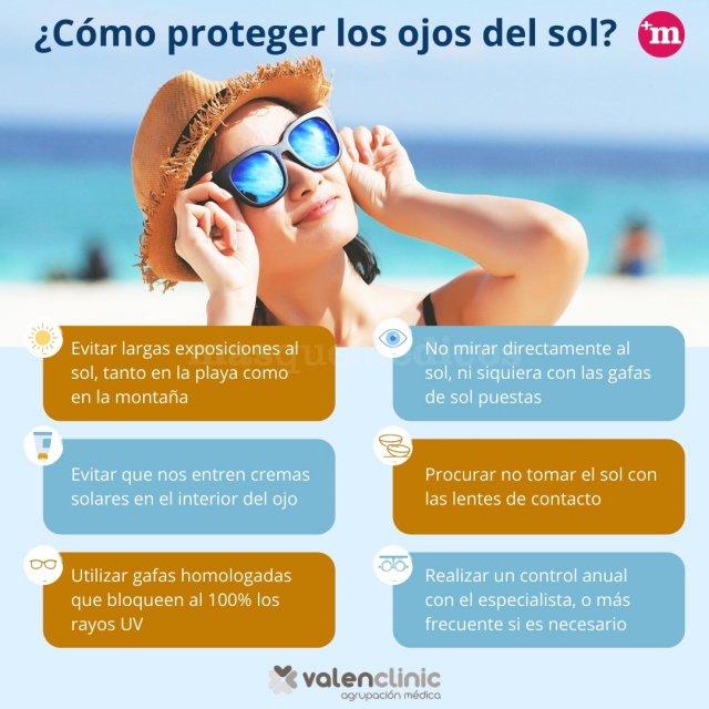 ¿Cómo proteger los ojos del sol? - Valenclinic - Valenclinic Agrupación Médica