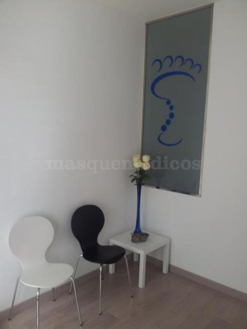 Sala de espera - Clínica Trinitat Podología y Fisioterapia