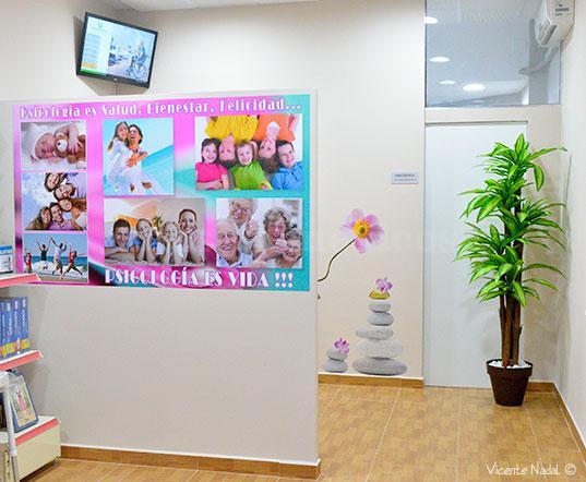Sala de espera - Centro de Psicología Sonia Cuenca