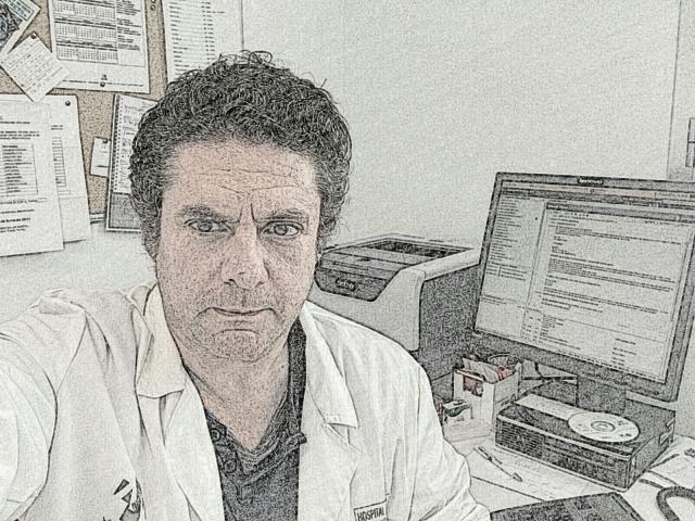 En la consulta de la Unidad de Salud Mental - Dr. Josep Pena Garijo