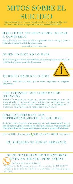 10 de septiembre, Día Mundial para la prevención del suicidio - Sol Vadillo