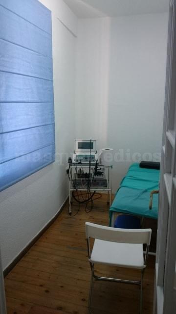 Sala de electroterapia - Clínica de Fisioterapia López Gómez