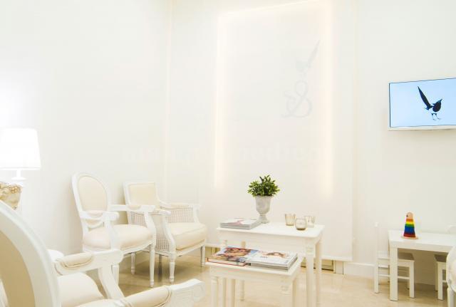 Sala de espera de la clínica - Lidia Pérez Dermatólogos