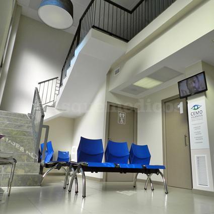 Sala de Espera - CEMO Oftalmología - Dra. Mosqueira