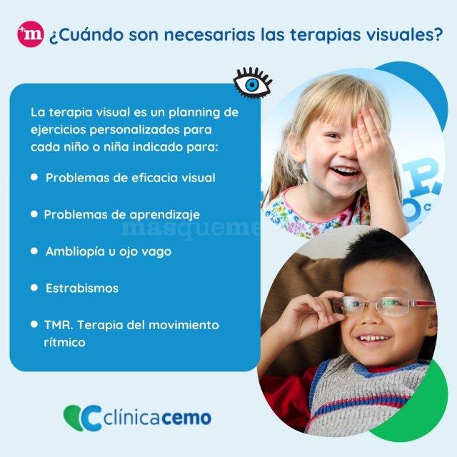 ¿Cuándo son necesarias las terapias visuales? - CEMO Oftalmología - Dra. Mosqueira