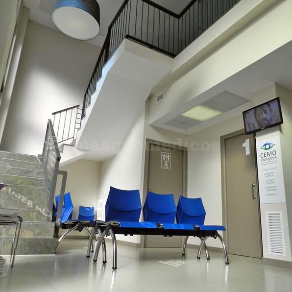 Sala de espera - Clínica CEMO