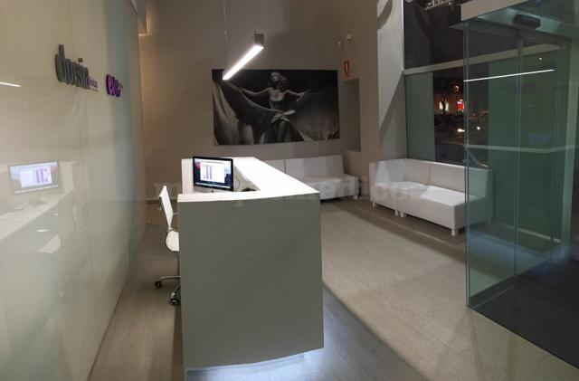 Recepción y sala de espera - Clínica Dorsia Zaragoza Puerta del Carmen