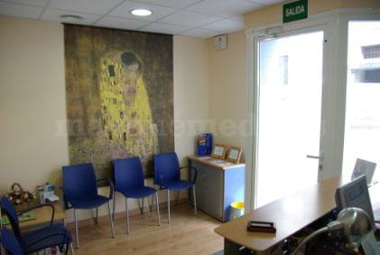 Sala de espera - Arasalud Centro de Osteopatía y Fisioterapia