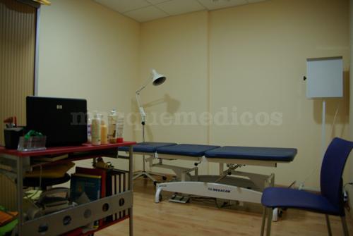 Gabinete - Arasalud Centro de Osteopatía y Fisioterapia