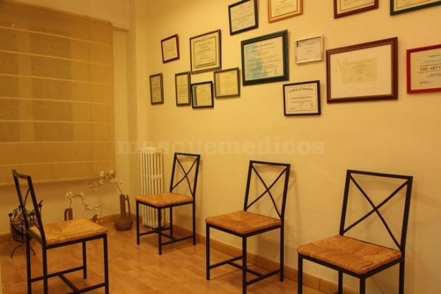 Sala de espera - Centro Vitae Psicología