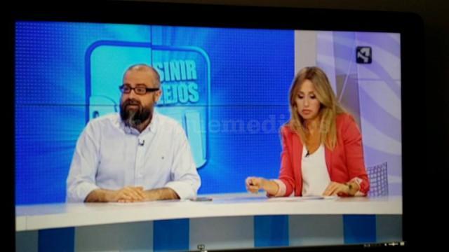 Contertulia del programa Sin Ir más lejos. Aragón tv. 2014 - Marisa Hernández Torrijo