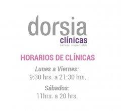 Horario Clínicas Dorsia - Clínica Dorsia Alicante Aguilera