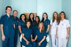 El equipo de la Clínica Dental Las Rozas