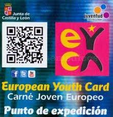 10% de descuento a los miembros del carné joven europeo