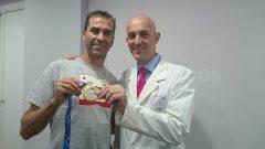 Con Dani Molina, Triatleta profesional - Alberto Sacristán Rubio