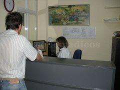 Recepción de la Clinica - Centro Clínico Betanzos 60