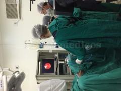 cirugia con equipo flexible para litiasis (calculos) Urinarios - Juan Guillermo Velasquez Lopez
