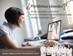Consulta oftlamológica virtual