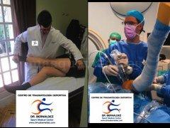 Especialistas en Cirugia Minimamente Invasiva. Clinica Bernáldez. Centro de Traumatología Deportiva, - Clinica Bernáldez