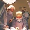 Durante una intervención - Dr. Rafael Solano