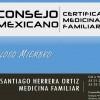 Médico Familiar Certificado - Dr. Santiago Herrera Ortiz
